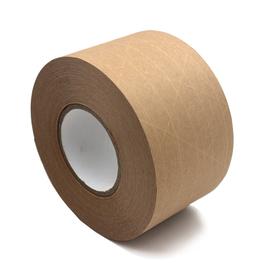 有线纤维夹筋湿水牛皮纸胶带